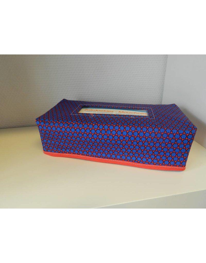 zakdoekdooshoes blauw rood