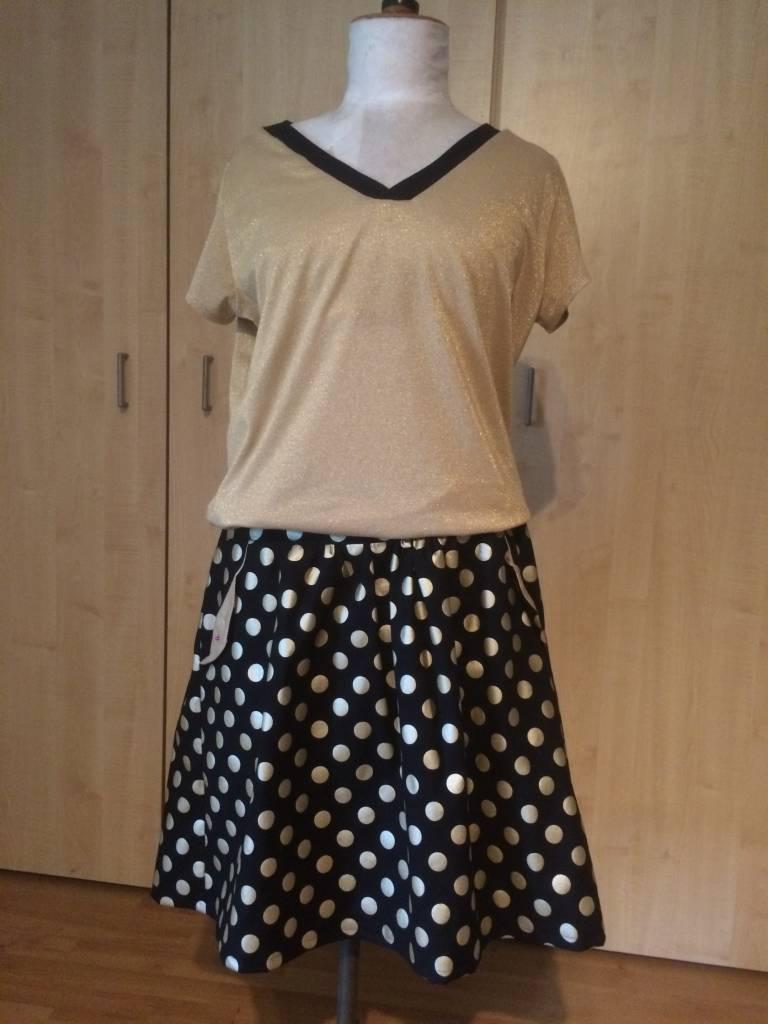 Lotta Skirt en Valentine Shirt voor mezelf!