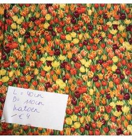 stof katoen tulpen