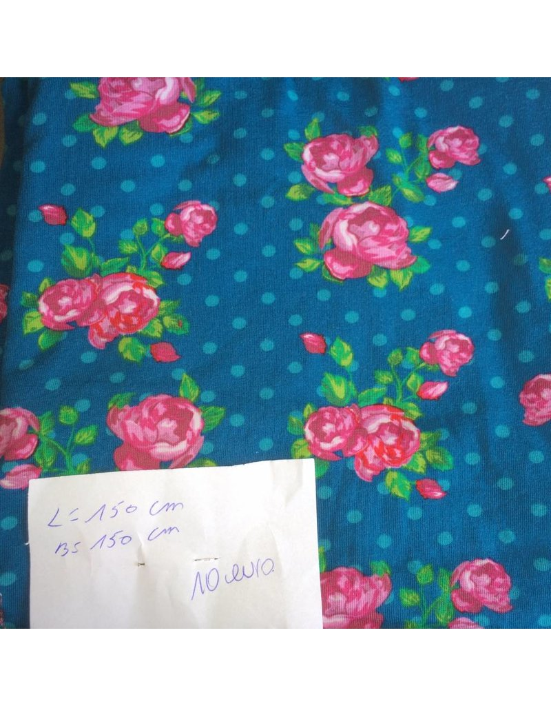 stof tricot rozen