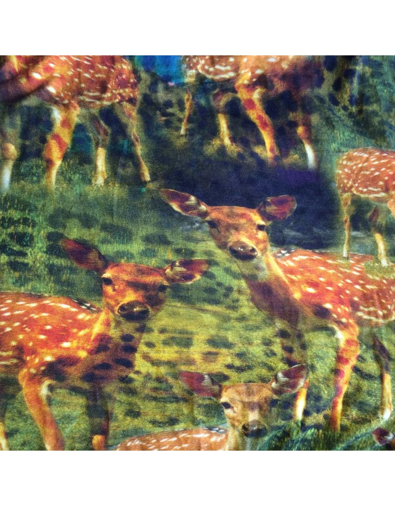 stof tricot bambi digitaal