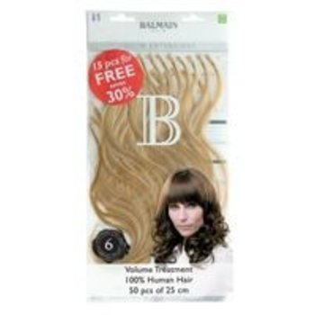 Balmain Fill-in Extensions Natural Straight 25cm 50Stk