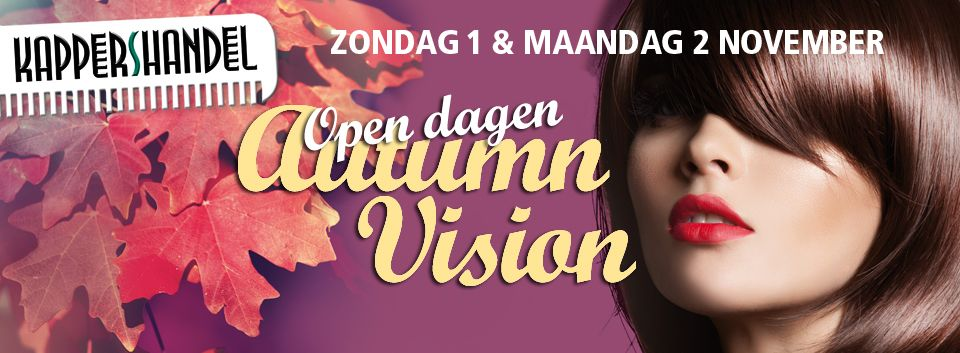 Open Dagen Kappershandel: 1 + 2 november 2015