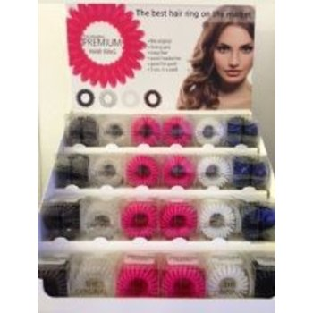 The Original Premium Hair Ring The Original Premium Hair Ring Display (EXCL, HAIR RINGS)