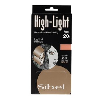 Sibel Folie Hi-Lite Foam Gold