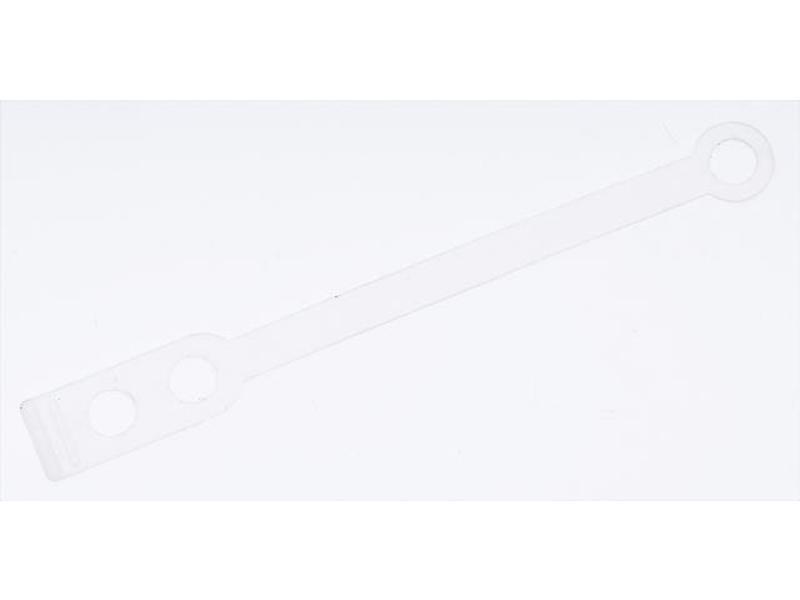 Sibel Permanent Elastiek Siliconen Plat 50Stk