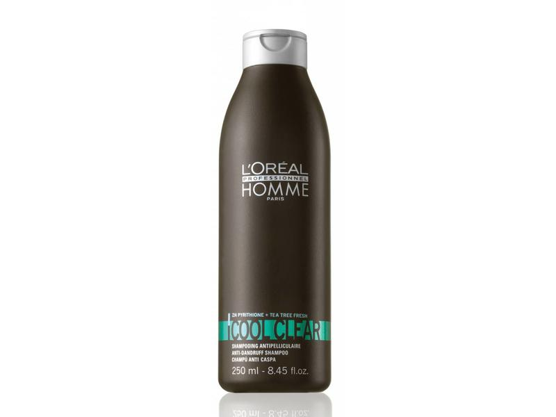 Loreal Homme Cool  AndClear Shampoo