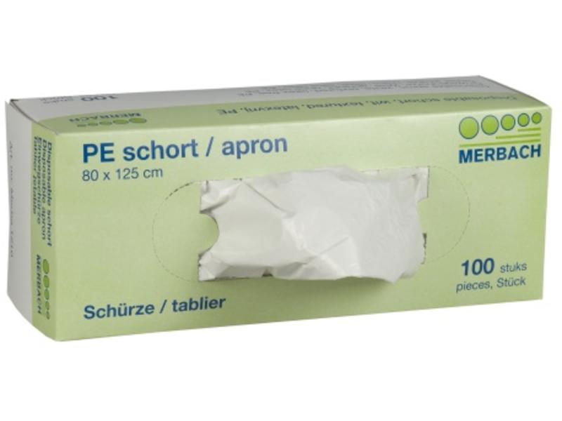 Merbach Wegwerp Schort Getextureerd Latexvrij 80 x 125cm