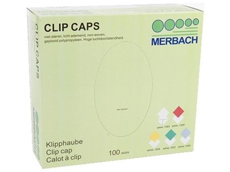 Merbach Clip Caps Wit