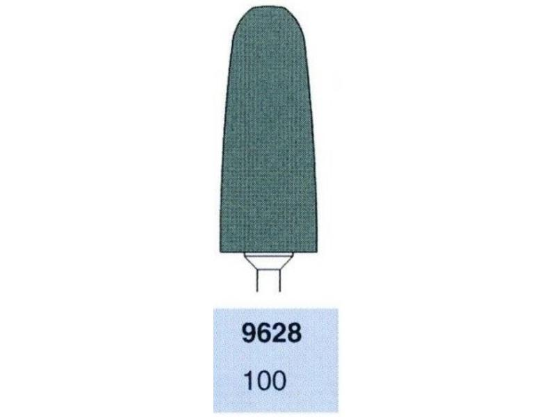 Busch Polijstfrees 9628-100 Zwart