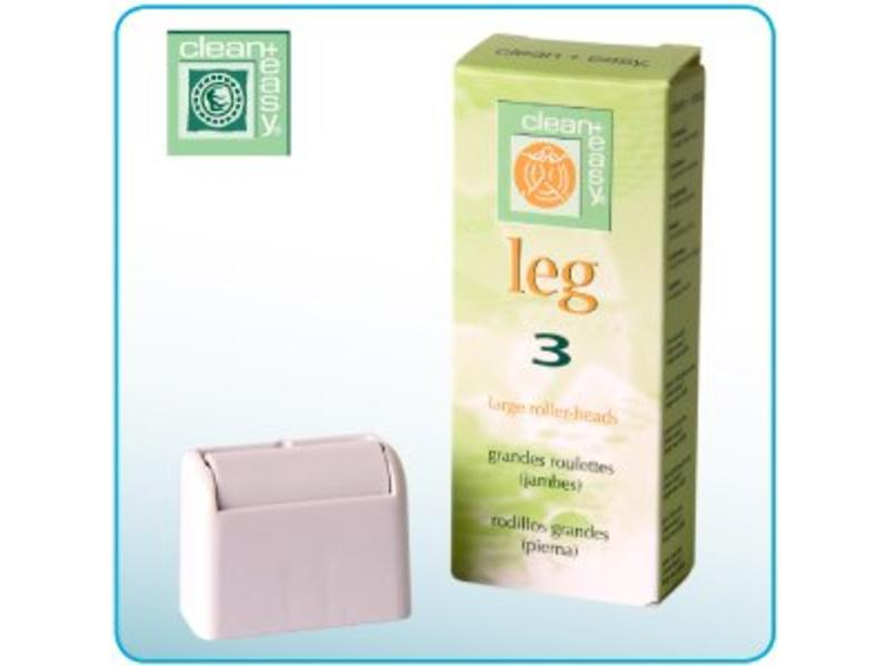 Clean And Easy Leg Roller Heads Large 3st