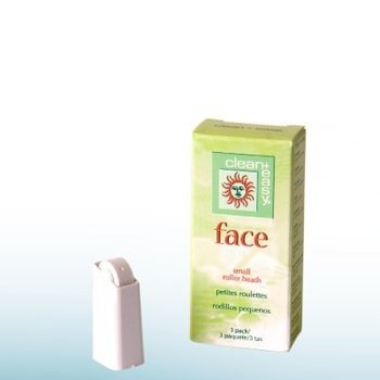 Clean And Easy Face Roller Heads Small 3st