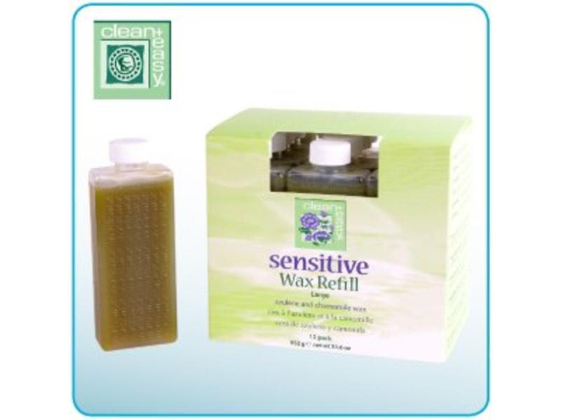 Clean And Easy Sensitive Azulene & Chamomile Wax Refills