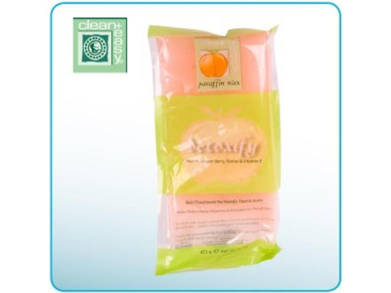 Clean And Easy Paraffine Wax Peach/Detoxify