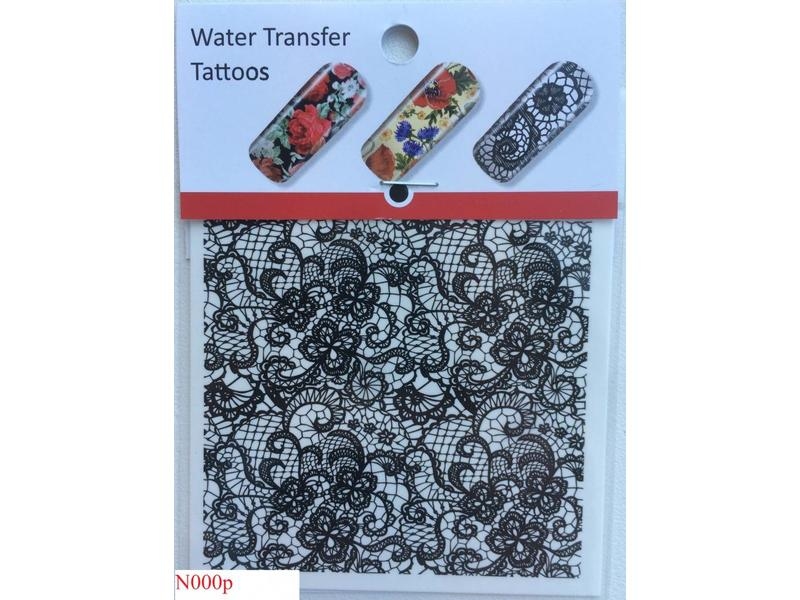 No Label Water Transfer Tattoos