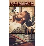 Banner Barber 80x140cm