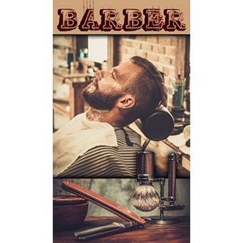 H-Graphics Banner Barber 80x140cm