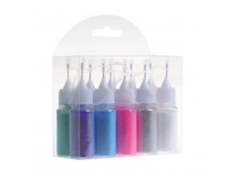 No Label Glitter Kit 10St