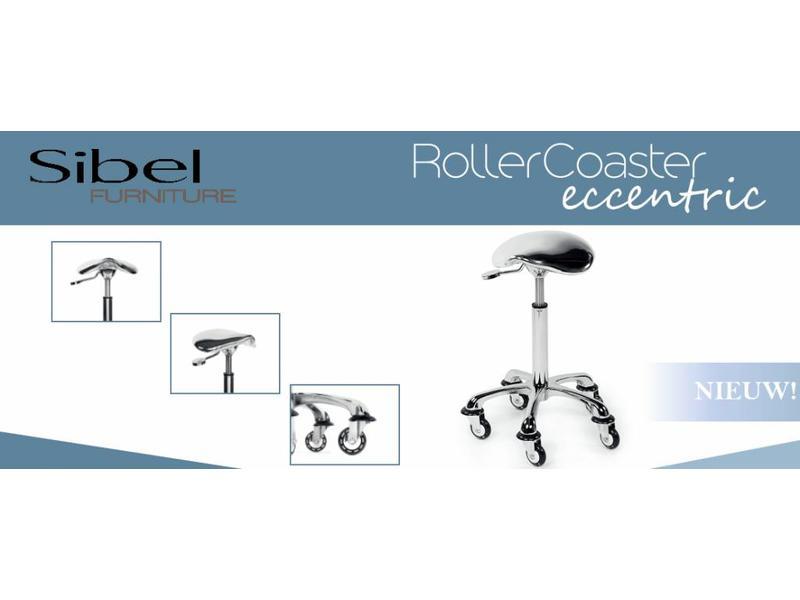 Sibel Rollercoaster Eccentric Chroom Kappersfiets