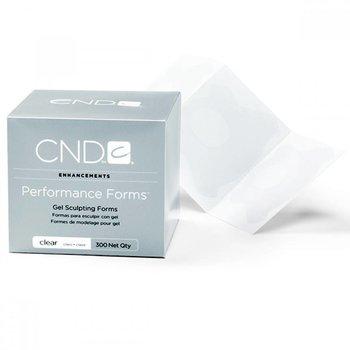 CND Enhancements Gel Sculpting Forms Clear Sjablonen