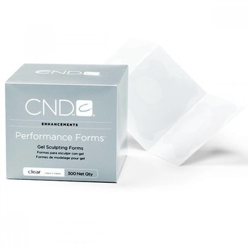 CND Enhancements Gel Sculpting Forms Clear