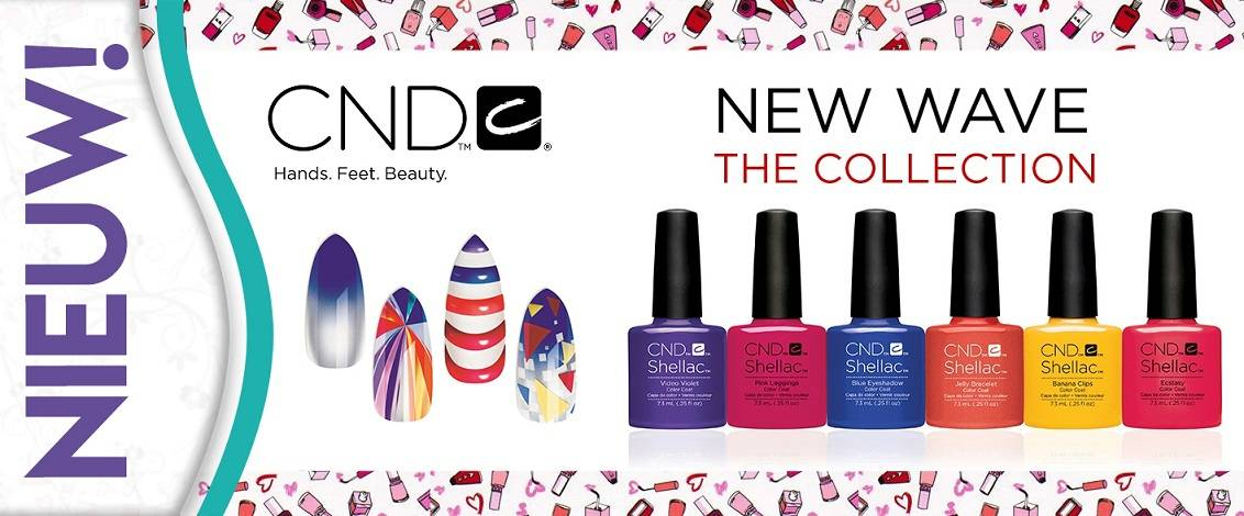 Nieuw! CND New Wave Collection