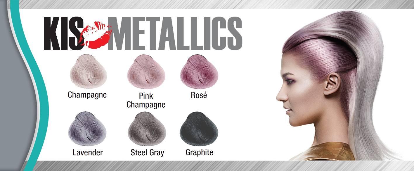 Kis Kera Cream: Metallics Collection