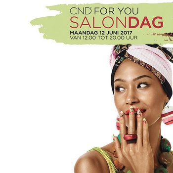 CND FOR YOU SALONDAG – MAANDAG 12 JUNI