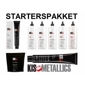 KIS KeraCream Haarverf Starterspakket