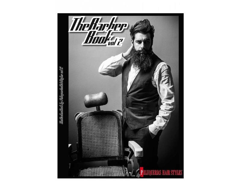 Peluquerias The Barber Book Vol. 2 Modellenboek