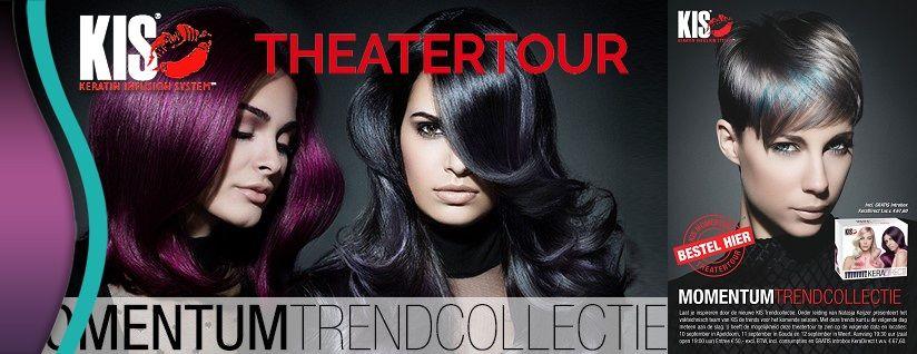 KIS Theatertour nieuwe Trendcollectie en KeraDirect Tinten