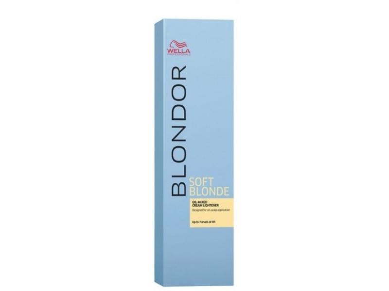 Wella Blondor Soft Blonde Blondeercrème op Oliebasis