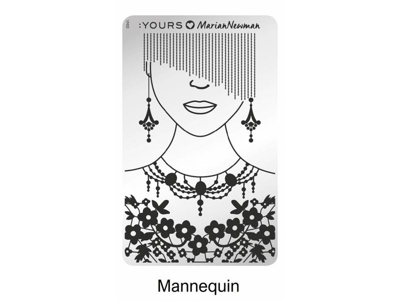 :Yours Cosmetics Loves Marian Newman Stempelplaten Collectie