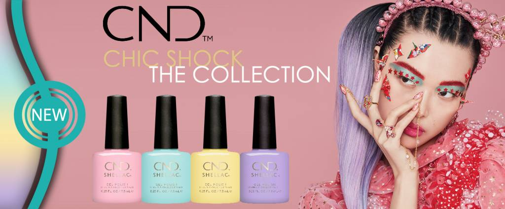 CND™ SHELLAC™ Gel Polish - Chic Shock Collectie