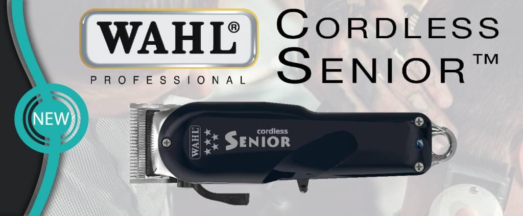 WAHL Senior Cordless Tondeuse - nu bij Kappershandel!
