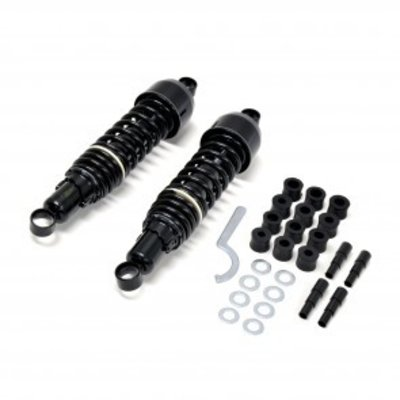 335mm Black Cafe Racer Shocks Type 1
