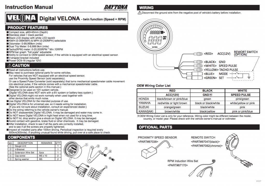 porsche vdo tachometer wiring diagram html