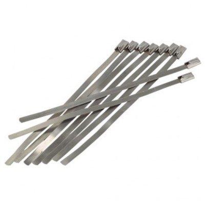 Metal Zip Ties for Exhaust Wrap