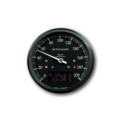 Motogadget Chronoclassic Speedo Black