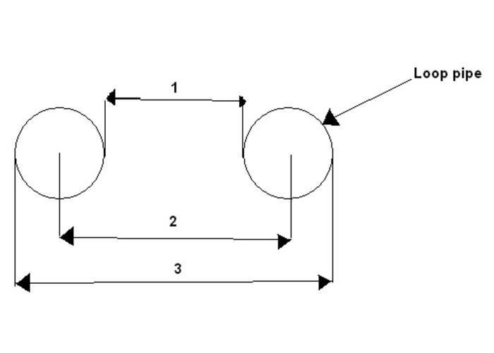 """1"""" Cafe Racer Subframe Loop 210MM Width"""