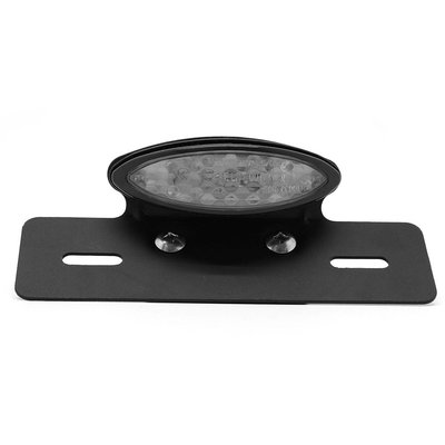 LED Smoke Tail light with Plate Holder