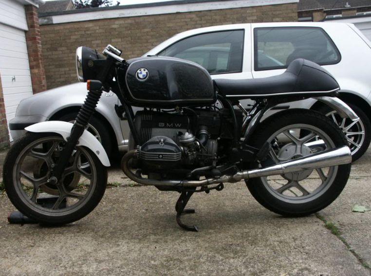 giuliari cafe racer replica seat voor bmw /7 - motorcycles united