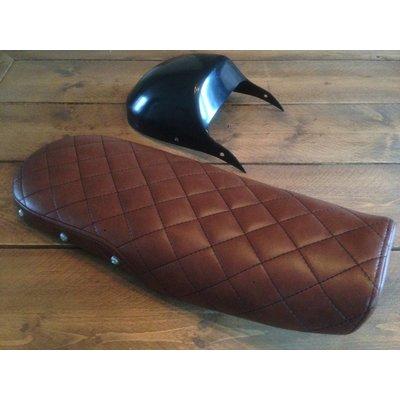 CX500 Seat Diamond Vintage Brown 80