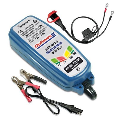 Optimate Optimate 2 4-step 12V 0.8A Battery Charger Maintainer