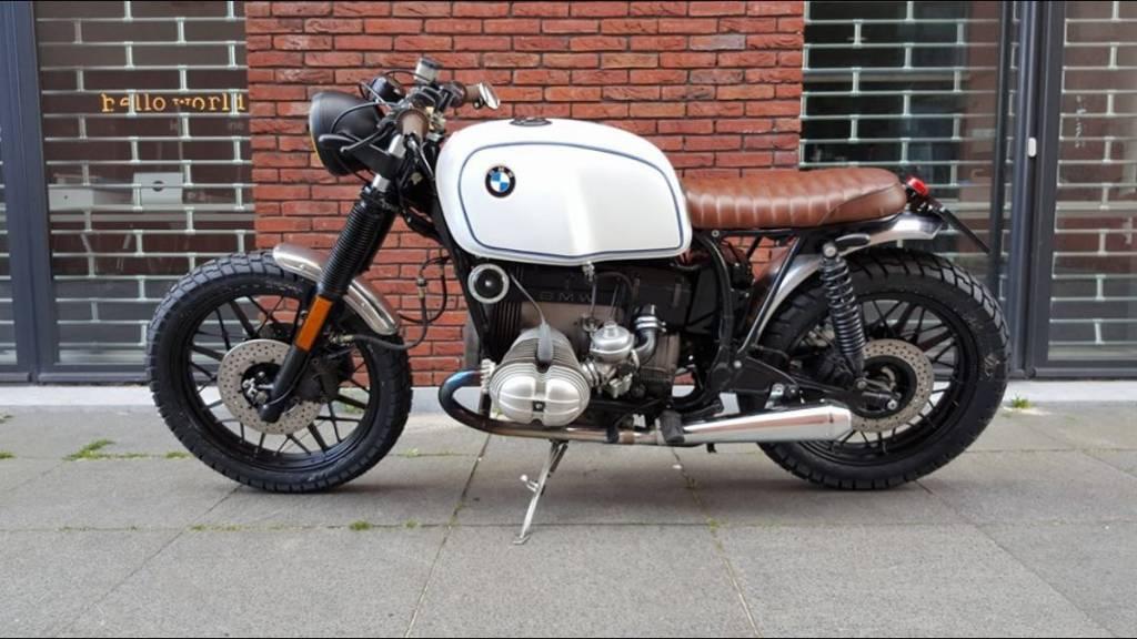 tuck n' roll brat seat cafe racer brown type 36 - motorcycles united