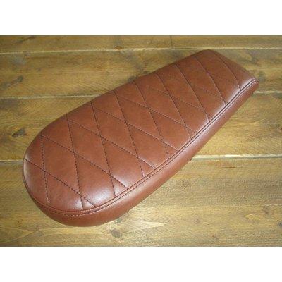 Diamond Brat Seat Vintage Brown Wide 78