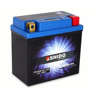 Shido Shido YTX14AH-BS Lithium Ion battery 240CCA
