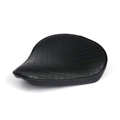 Solo Seat Diamond Bobber Black