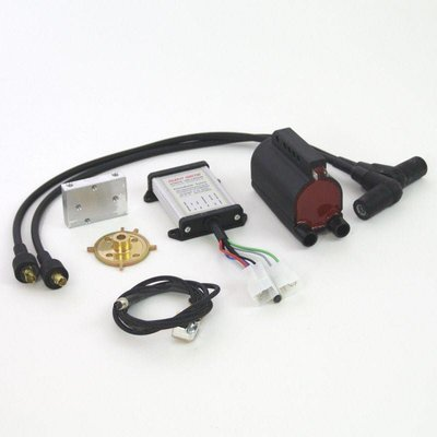Digital ignition single coil Silent Hektik for BMW R2V Boxer Models from 9/1980 up.