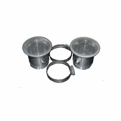 55mm Alloy Velocity Stack for BMW R2V Boxer models with 40mm carburators